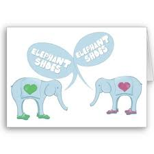 Elephant Shoes or I Love You...The Good and Bad of Lipreading.